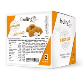 Mini Galletas FeelingOK Quadrelli Optimize Coco 150 g
