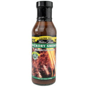 Sauce Barbecue Hickory Smoked Walden Farms 355 ml