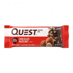 Quest Bar Protein Sabor Chocolate con Avellanas 60 g