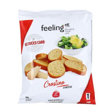 Croutons Queijo FeelingOk Crostino Start 100 g