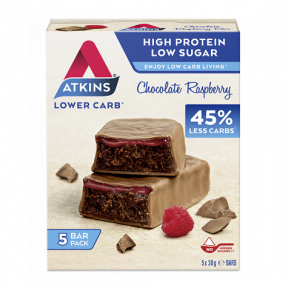 Advantage Bar sabor Chocolate con Frambuesa Atkins 5x30 g