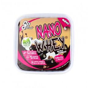 Bolachas Nano Whey Recheadas de Creme Branco GoFood 200 g