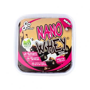 Gaufrettes Nano Whey Fourrées goût Crème Blanche GoFood 200 g
