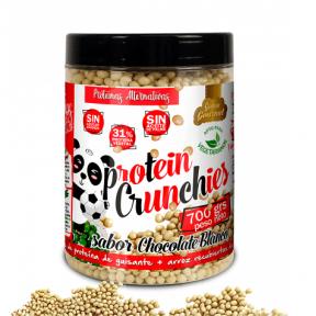 Protein Crunchy goût Chocolat Blanc Quamtrax 500 g