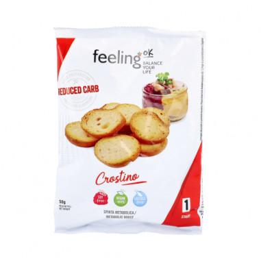 Croûtons FeelingOk Crostino Start Huile d'Olive 50 g