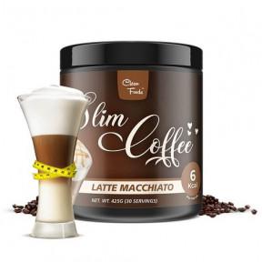 Préparation pour Café Latte Macchiato Slim Coffe Clean Foods 425 g