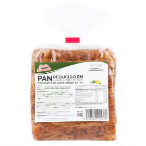 Pão rico em fibras e baixo carboidrato CSC Foods 450g