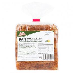 Pan bajo en carbohidratos rico en fibra CSC Foods 450g