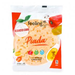 Wrap FeelingOk Piada Start 100g 2 units