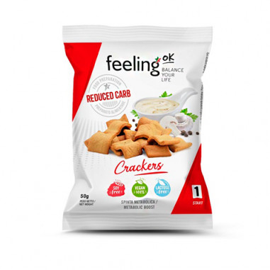 Regañás FeelingOk Crackers Start Natural 50 g