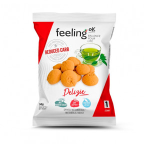 Biscuits FeelingOk Delizia Start Citron-Vanille 50 g
