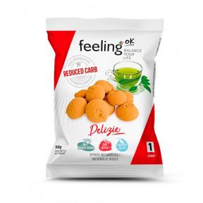 Galletas FeelingOk Delizia Start Vainilla-Limón 50 g