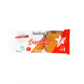 FeelingOk Vanilla-Lemon Biscottone Start Cookies 50 g