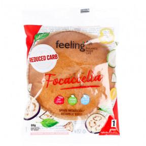 FeelingOk Natural Focaccella Start Italian Bread 80 g