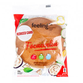 Pain Italien FeelingOk Focaccella Start Nature 80 g