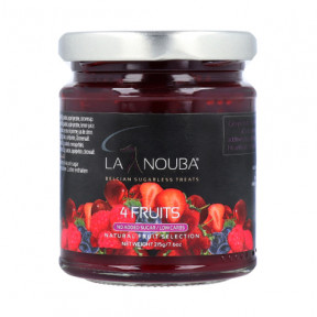 Confiture LaNouba quatre fruits Low Carb 215g