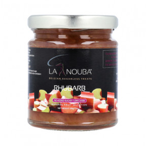 Confiture LaNouba rhubarbe Low Carb 215g