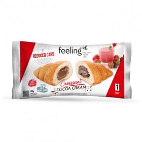Croissant cheio de Chocolate FeelingOk Start 1 unidade 65 g