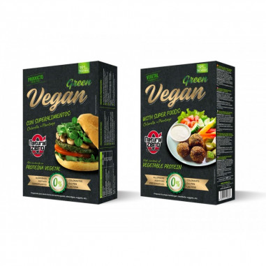 Protein Green Vegan Burger Natural Zero 191g