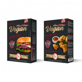 American Hamburguer vegano com proteínas Natural Zero 199g