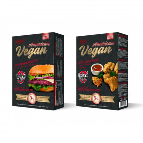 Hamburguesa Proteica American Vegan Natural Zero 199g