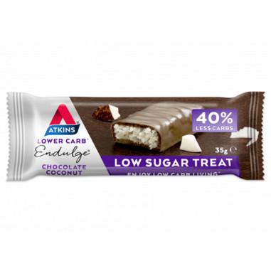 Endulge Bar Sabor Chocolate con coco Atkins 35 g