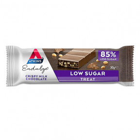 Endulge Bar Saveur Chocolat au Lait Croustillant Atkins 30 g