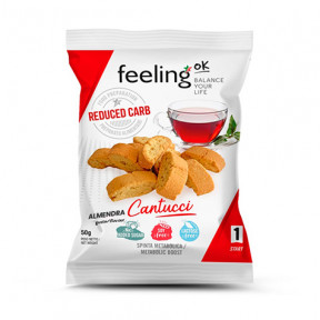 Mini Galletas FeelingOK Cantucci Start Almendras 50 g