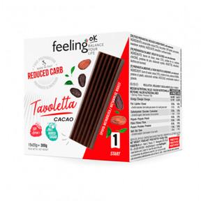 Tablette de chocolat FeelingOk Tavoletta 15 unités (15x20g) 300 g