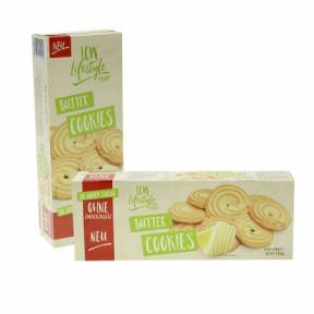Cookies au beurre sans sucre ajouté LCW 135g