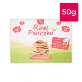Monodose para Panquecas Low-Carb Raw Pancake Sabor Maçã com Canela Clean Foods 50g