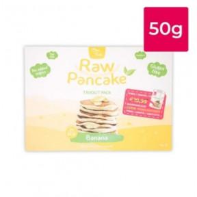 Monodosis para Tortitas Low-Carb Raw Pancake sabor Plátano Clean Foods 50g
