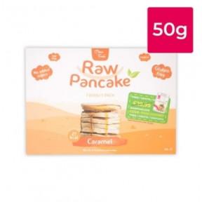 Monodose para Panquecas Low-Carb Raw Pancake Sabor Caramelo Clean Foods 50g