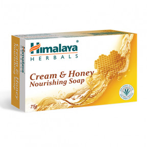 Nourishing cream and honey soap Himalaya 75g