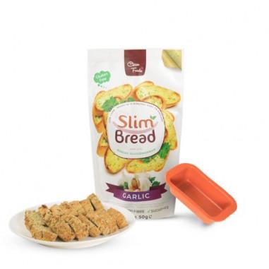 Clean Foods Slim Bread Garlic 10 x 50g