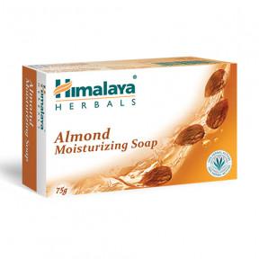 Jabón hidratante de almendra Himalaya 75g