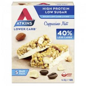Atkins DayBreak barrita Frutos secos y Café 5x30g