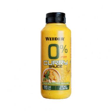 Sauce Curry 0% Weider 265 ml