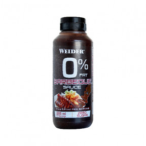 Salsa Barbacoa 0% Weider 265 ml