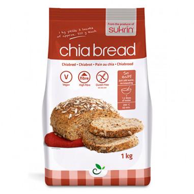 Bread Mix Chia Hemp Sukrin 1 kg