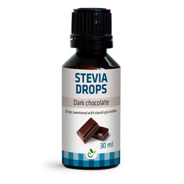 Edulcorante Stevia Drops de Sukrin Sabor Chocolate Negro 30ml