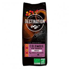 Colombian Ground Organic Coffee 100% Arabica Destination 250g