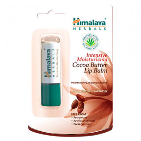 Baume à lèvres hydratant au beurre de cacao Himalaya 4,5 g