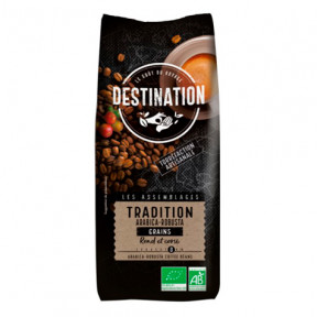Café Moulu Tradition Arabica Robusta Bio Destination 250g