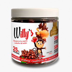 Protella Chocolate Peanuts Willy's 190 g