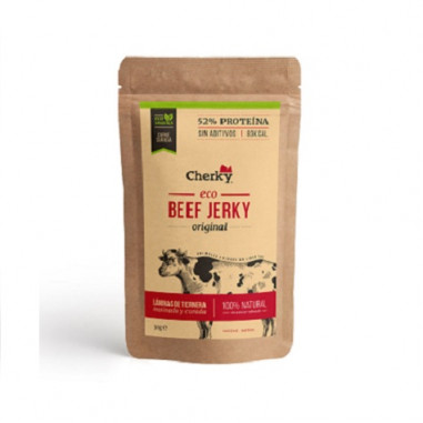 Beef Jerky Original Carne Curada Orgânica Cherky 30g