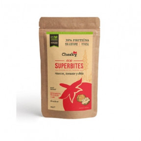 Superbites Lanche Crocante de Vitela Orgânica com nozes, tomate e Chia Cherky 30g