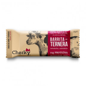 Organic Beef Bar with Beetroot and Blueberries Cherky 35g