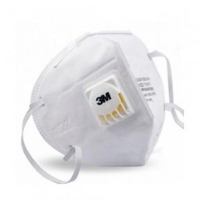 Masque avec filtre actif et valve 3M mod. 9010V N95 standard