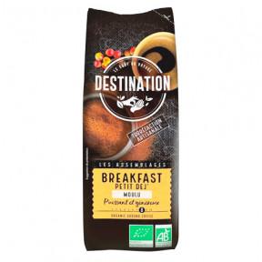 Café Moulu Bio pour le Petit Déjeuner 100% Arabica Destination 250g